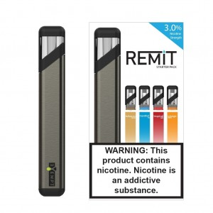 Remit Starter Kit with Variety Flavor Pack (Gunmetal)